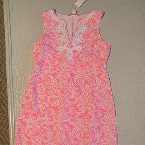 Pink lilly Pulitzer shift dress